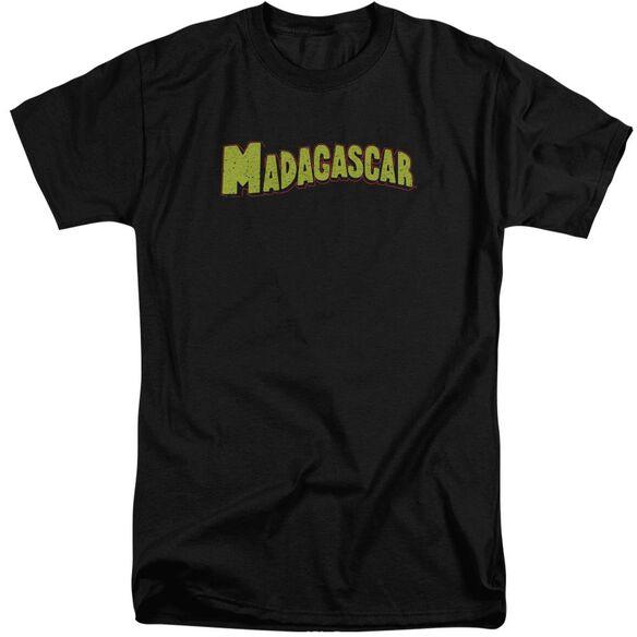 Madagascar Logo Short Sleeve Adult Tall T-Shirt