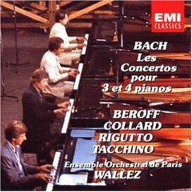 J.S. Bach - Piano Concerti 3 & 4