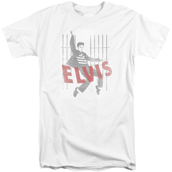 Elvis Iconic Pose Short Sleeve Adult Tall T-Shirt