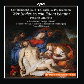 Telemann/ Adler/ Schwarz - Wer Ist Der So Von Edom Kommt