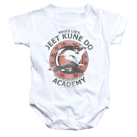 Bruce Lee Jeet Kune Infant Snapsuit White