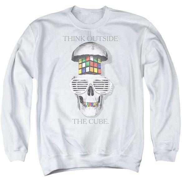 Rubik's Cube Outside The Cube Adult Crewneck Sweatshirt