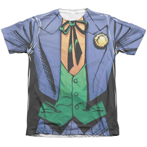 Batman Joker Uniform Adult Poly Cotton Short Sleeve Tee T-Shirt