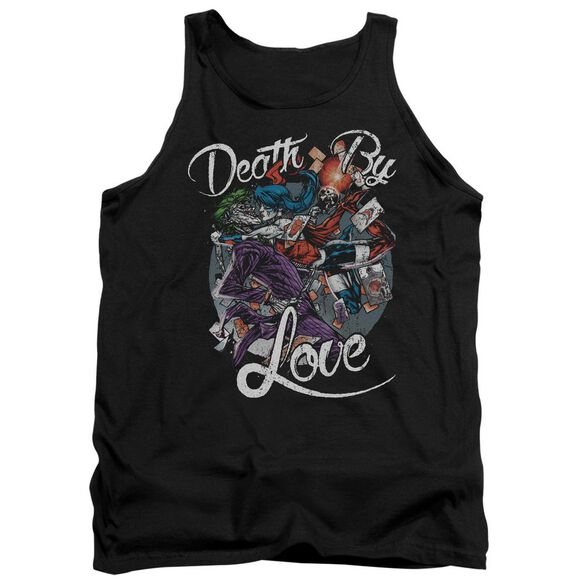 Batman Death By Love Adult Tank