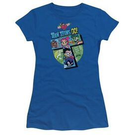 Teen Titans Go T Group Juniors T-Shirt