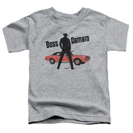 Chevrolet Boss Short Sleeve Toddler Tee Athletic Heather T-Shirt