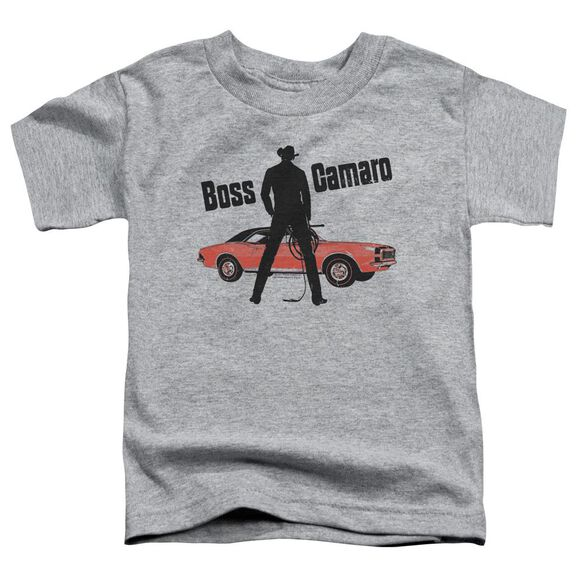 Chevrolet Boss Short Sleeve Toddler Tee Athletic Heather T-Shirt