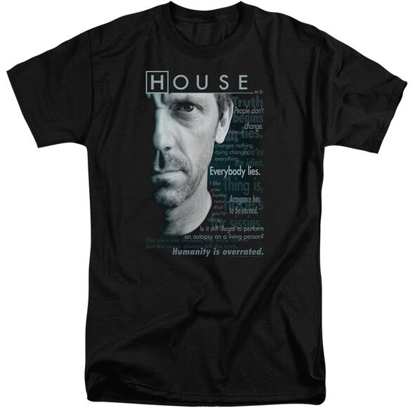 House Houseisms Short Sleeve Adult Tall T-Shirt