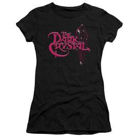 Dark Crystal Bright Logo Short Sleeve Junior Sheer T-Shirt