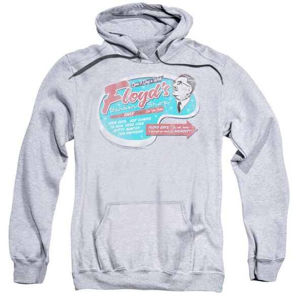 Mayberry Floyd's Barber Shop Adult Pull Over Hoodie Athletic