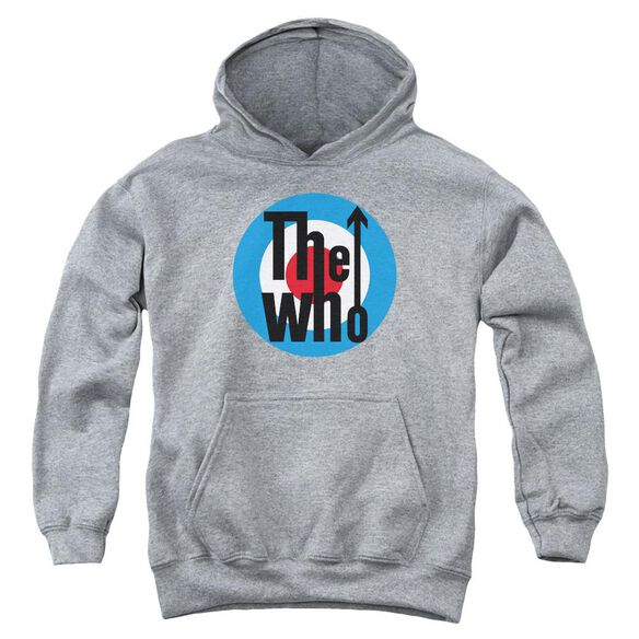 The Who Logo Youth Pull Over Hoodie Athletic