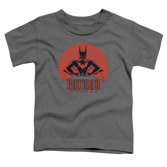 Batman Beyond Stand Tall Short Sleeve Toddler Tee Charcoal T-Shirt