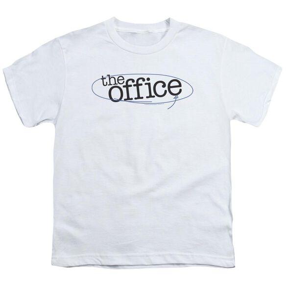 The Office Circled Logo Short Sleeve Youth T-Shirt