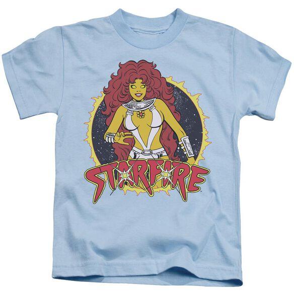 Dc Starfire Short Sleeve Juvenile Light Blue T-Shirt
