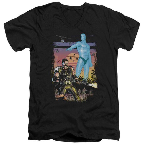 Watchmen Winning The War Short Sleeve Adult V Neck T-Shirt
