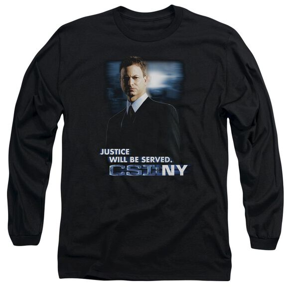 Csi:Ny Justice Served Long Sleeve Adult T-Shirt