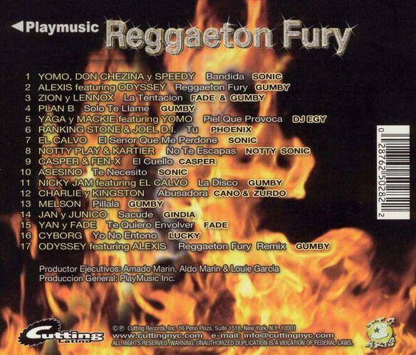 Reggaeton Fury 0605