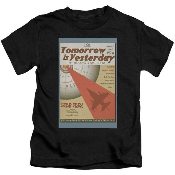 Star Trek Tos Episode 19 Short Sleeve Juvenile Black T-Shirt