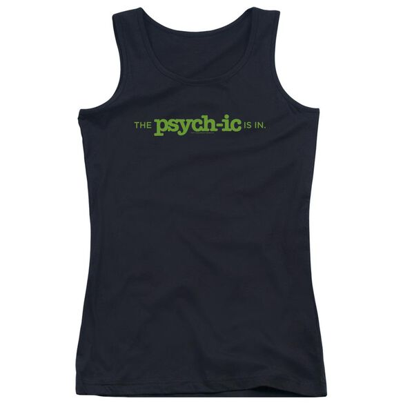 Psych The Psychic Is In Juniors Tank Top