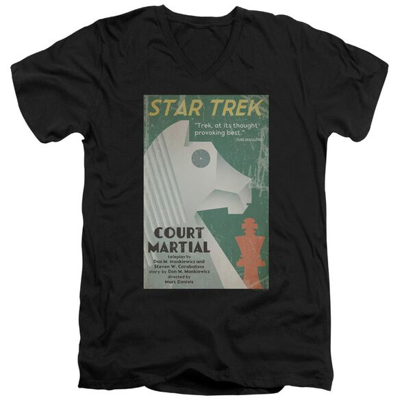 Star Trek Tos Episode 20 Short Sleeve Adult V Neck T-Shirt