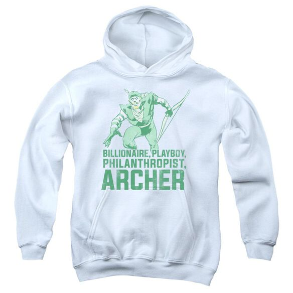 Dc Archer Youth Pull Over Hoodie