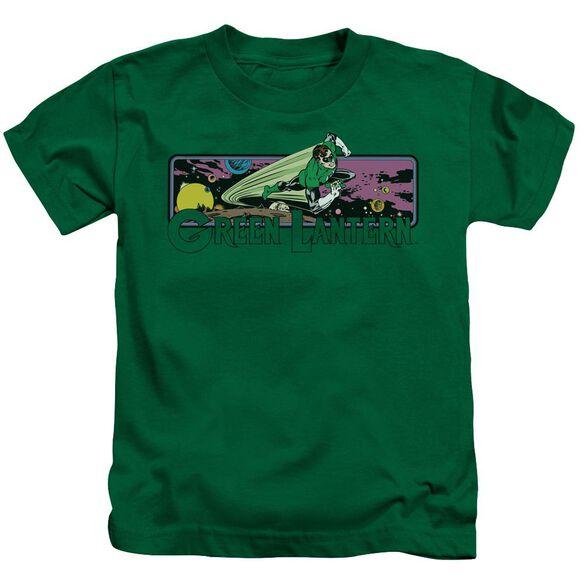 Dc Green Lantern Cosmos Short Sleeve Juvenile Kelly Green T-Shirt