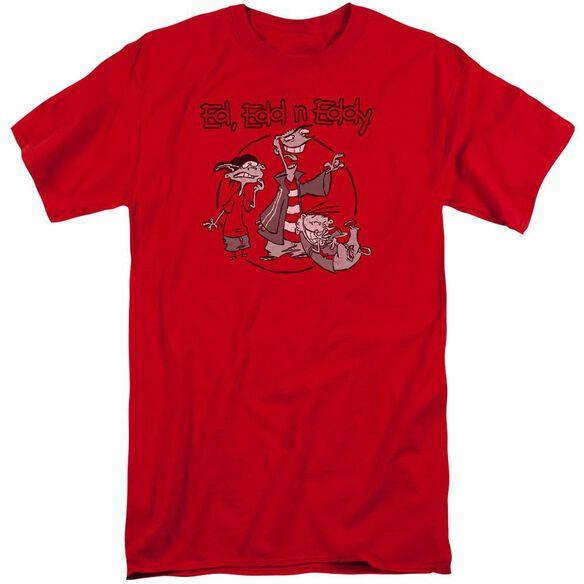 Ed Edd N Eddy Gang Short Sleeve Adult Tall T-Shirt