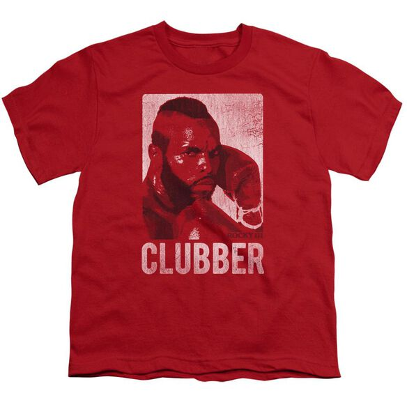 Rocky Iii Clubber Lang Short Sleeve Youth T-Shirt