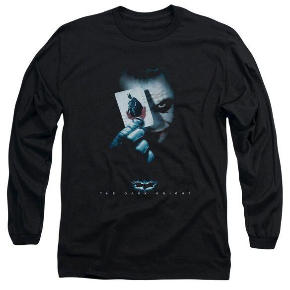 Dark Knight Joker Long Sleeve Adult T-Shirt