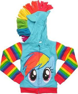 My Little Pony Rainbow Dash Juvenile Hoodie