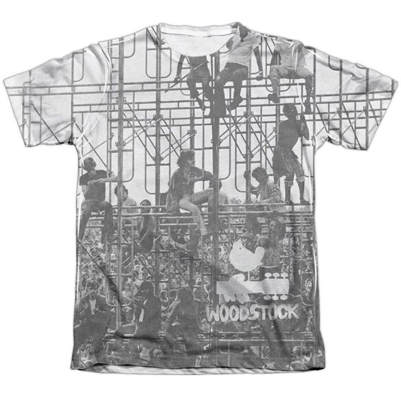 Woodstock Stage Adult Poly Cotton Short Sleeve Tee T-Shirt