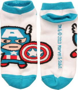 Captain America Kawaii Low Cut Socks