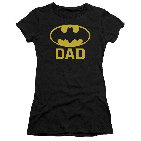 Batman Bat Dad Short Sleeve Junior Sheer T-Shirt