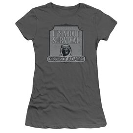 Grizzly Adams Survival Short Sleeve Junior Sheer T-Shirt