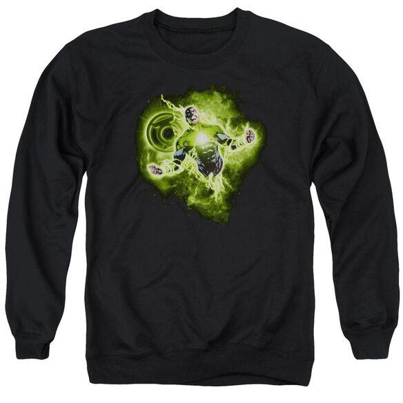 Green Lantern Lantern Nebula Adult Crewneck Sweatshirt