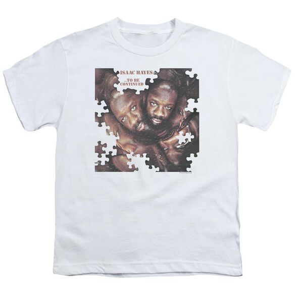 ISAAC HAYES TO BE CONTINUED - S/S YOUTH 18/1 - WHITE - T-Shirt