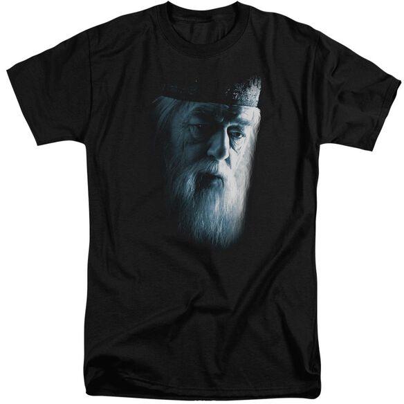 Harry Potter Dumbledore Face Short Sleeve Adult Tall T-Shirt