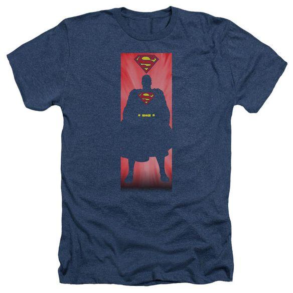 Superman Block Adult Heather