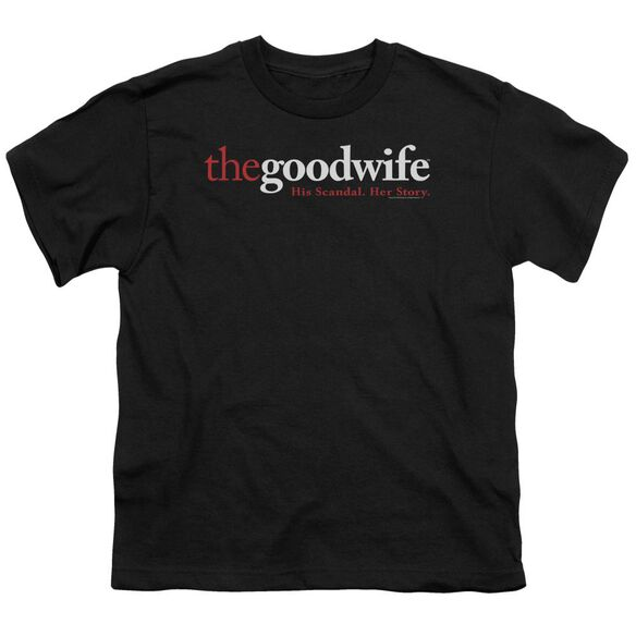 The Good Wife Logo Short Sleeve Youth T-Shirt