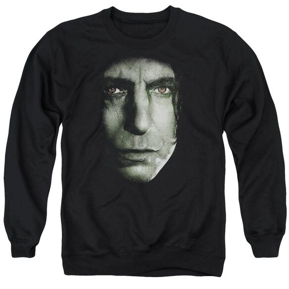 Harry Potter Snape Head Adult Crewneck Sweatshirt
