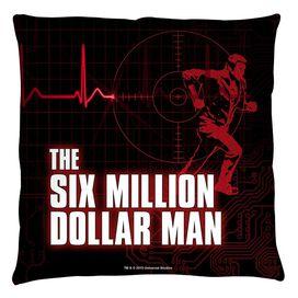 Six Million Dollar Man Logo Throw