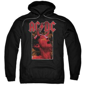 Acdc Horns Adult Pull Over Hoodie