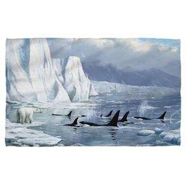 Wild Wings Glaciers Edge 2 Bath Towel