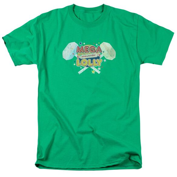 SMARTIES MEGA LOLLY - S/S ADULT 18/1 - KELLY GREEN T-Shirt