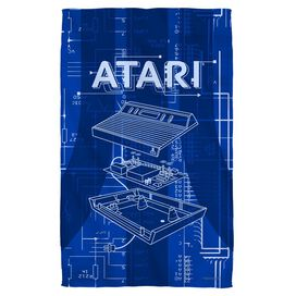 Atari Inside Out Towel White