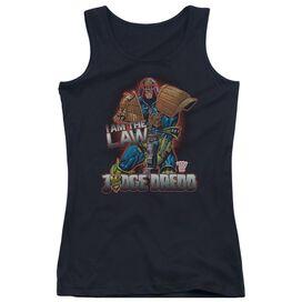 Judge Dredd Law Juniors Tank Top
