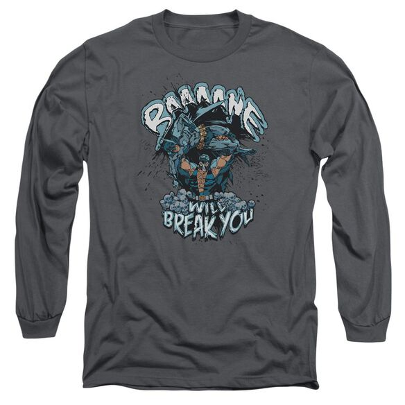Batman Bane Will Break You Long Sleeve Adult T-Shirt