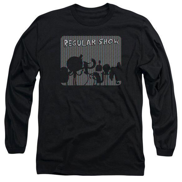 Regular Show Rgb Group Long Sleeve Adult T-Shirt
