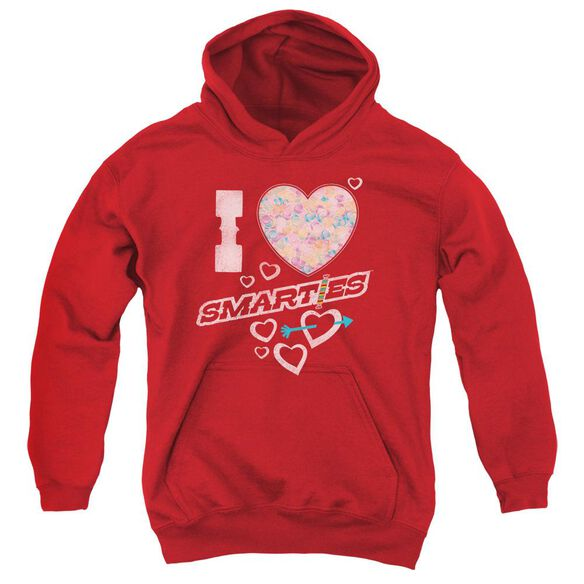 Smarties I Heart Smarties Youth Pull Over Hoodie