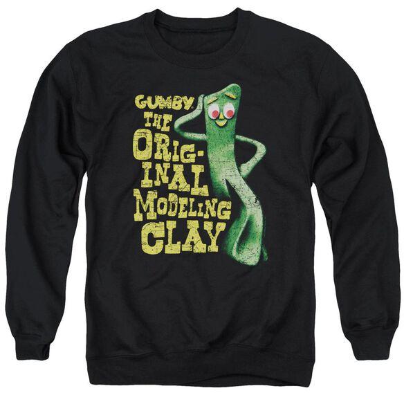 Gumby So Punny Adult Crewneck Sweatshirt